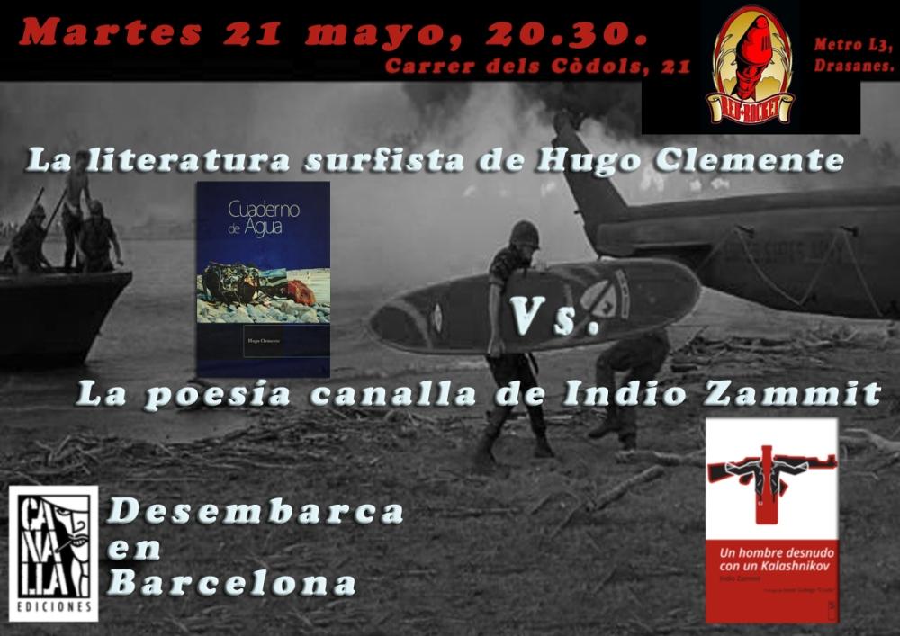 Canalla Ediciones Desembarca en Barcelona